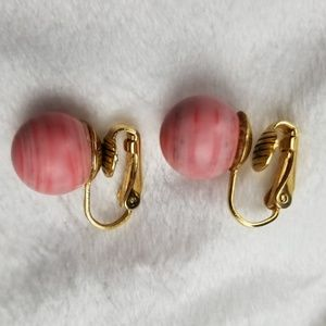 Sale Vintage Clip on Earrings